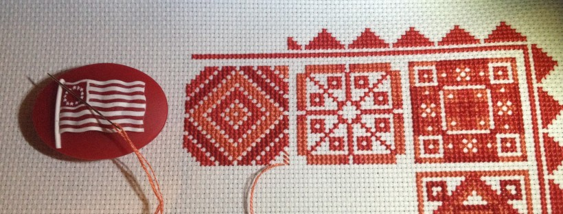 Redwork Quilt Update Floss Hoop Love